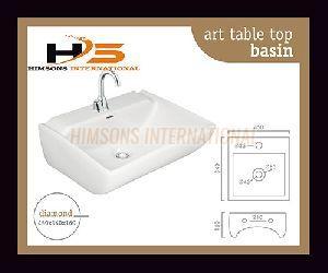 Diamond Table Top Wash Basin