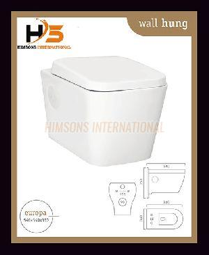 Europa Wall Hung Water Closet