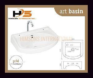 Gold Wash Basin