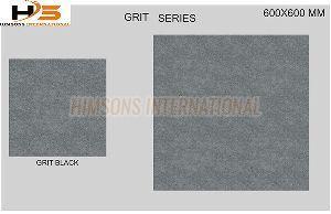 Grit Black Vitrified Tile