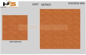 Grit Brown Vitrified Tile