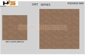 Grit Coffee Brown Vitrified Tile