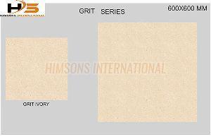 Grit Ivory Vitrified Tile
