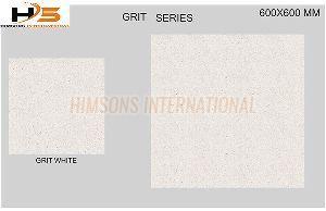Grit White Vitrified Tile