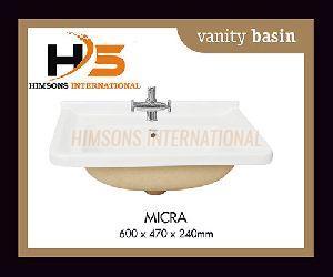 Micra Vanity Wash Basin
