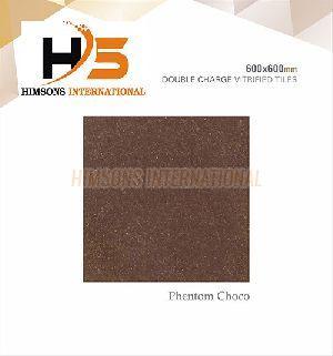 Phentom Choco Double Charge Vitrified Tile