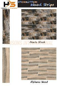 Wood Strip Tiles
