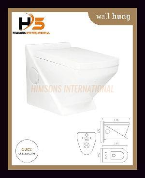 Zazz Wall Hung Water Closet