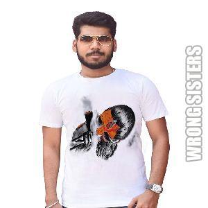 Aghori Sadhu Painted T-Shirt