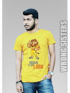 CSK Lion Printed T-Shirt
