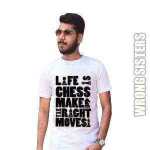 Life Is Chess Graphic T-Shirt