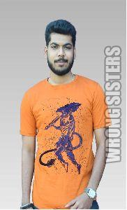 Lord Hanuman Ji Painted T-Shirt