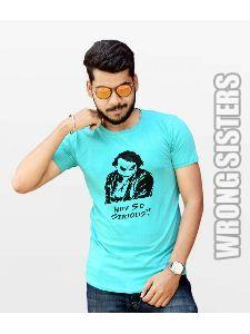 Why So Serious Printed Mens T-Shirt