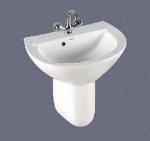 Scooty Half Pedestal Wash Basin