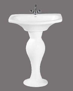 Secmi Full Pedestal Wash Basin