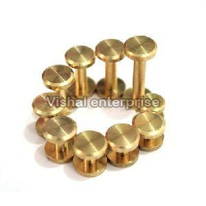 Brass Chicago Screws