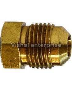 Brass Compression Flare Plug