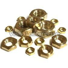 Brass Hex Half Nuts