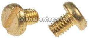 Brass Slotted Pan Head Screws