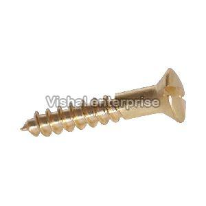Brass Slotted Raised Head Screws