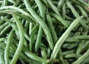 Fresh Green Cluster Beans