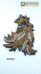 Bird Embroidered Patches