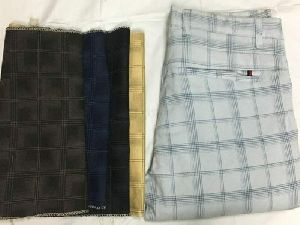 Mens Checkered Pant
