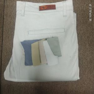 Mens White Trouser