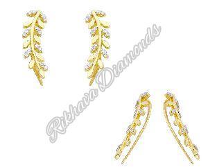 Diamond Ear Climbers