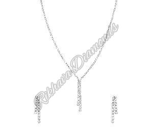 INK-4, INKER-4 Diamond Necklace