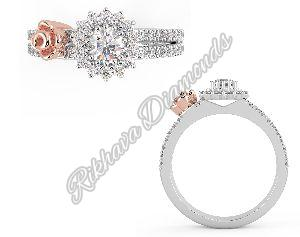 LR-209 Women Diamond Ring