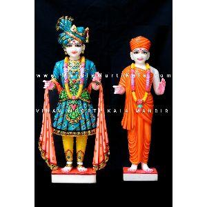 Swaminarayan Bhagwan Marble Statue