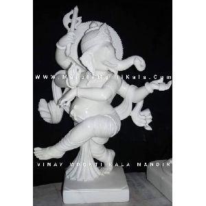 Dancing Ganeshji Statue