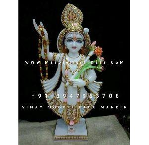 Yamunaji Marble Idol