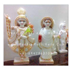 Yamunaji and Mahaprabhuji Idol