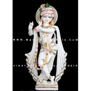 White Krishna Murti