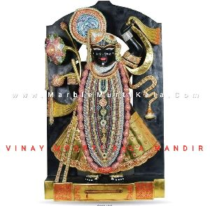 Shrinathji Vigrah in Marble Stone
