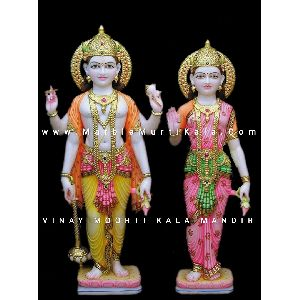 Marble Vishnu Laxmi Murti Suppliers