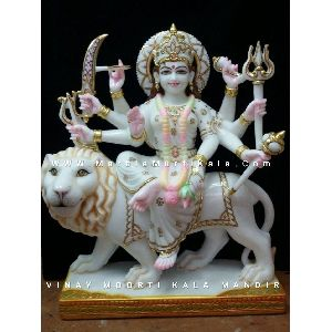 Ambey Mata Marble Statue