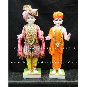 Marble Swaminarayan Bhagwan Statue