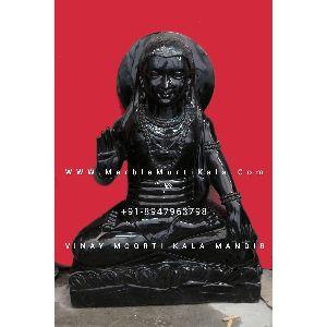 Black Marble Balak Nath Ji Statue