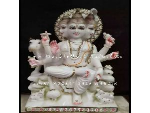 Dattatreya Bhagwan Sitting Statue