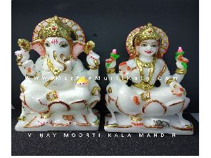 Ganesh Ji Laxmi Ji Statue