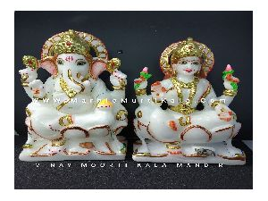 Ganesh Laxmi Statue for Home