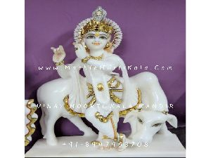 Gau Gopal Marble Murti