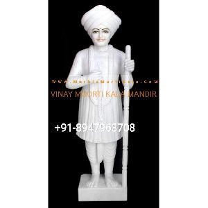 Makrana Marble Jalaram Bapa Statue