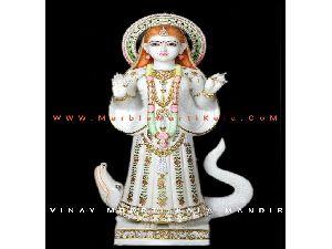 Maa Khodiyar Marble Moorti