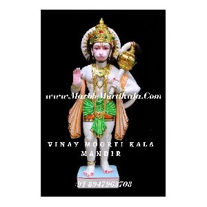 Multicolour Hanuman Idol