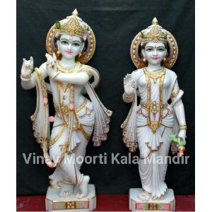 Marble Radha Govind Statue