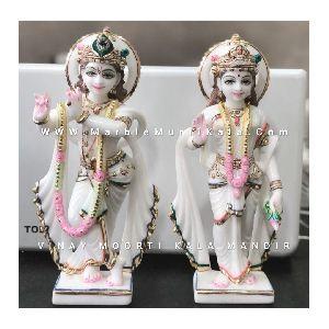 Krishna Radha Marble Idol